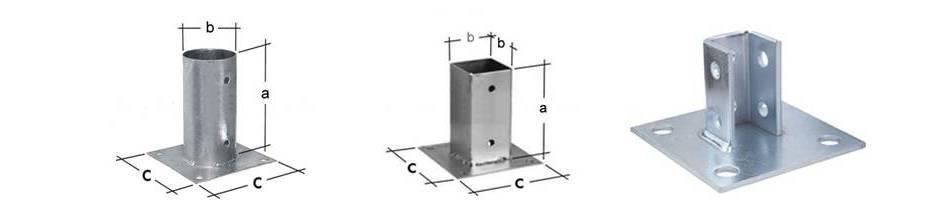 Adjustable Base: Adjustable Post Base Anchors